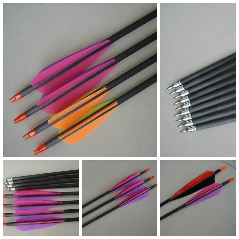 shooting arrow, carbon fiber arrow, archery arrow, carbon arrow shaft