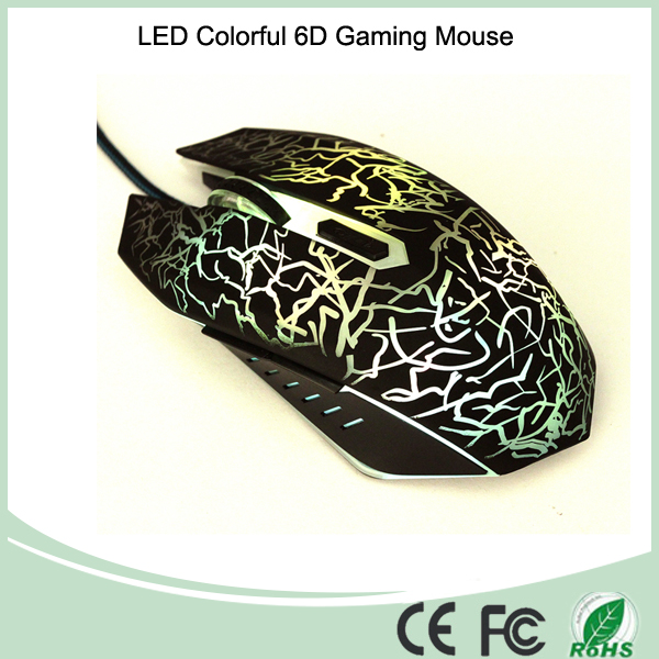 Mix Color Adjustable 800-1600-2000DPI 6D Computer Gaming Mouse