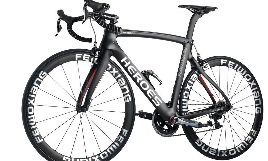 700C Carbon Fiber Road Bike Frame, Road Racing Carbon Frameset ...