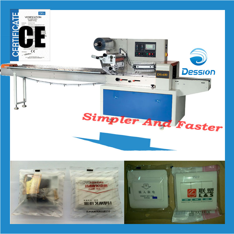 Coder/encoder/restrictor packaging machine wrapping in bag packing machinery machine