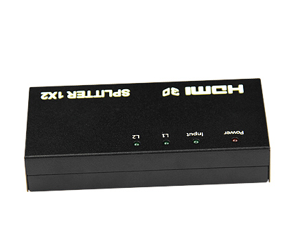 HDMI 1X2 Splitter with 3D ,1080p  V1.3b