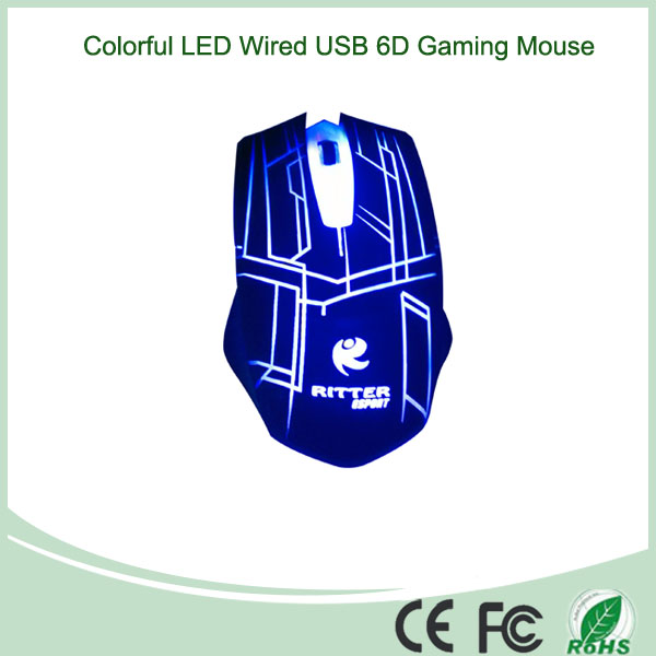 Seven Colors Changing Backlight Game Mouse