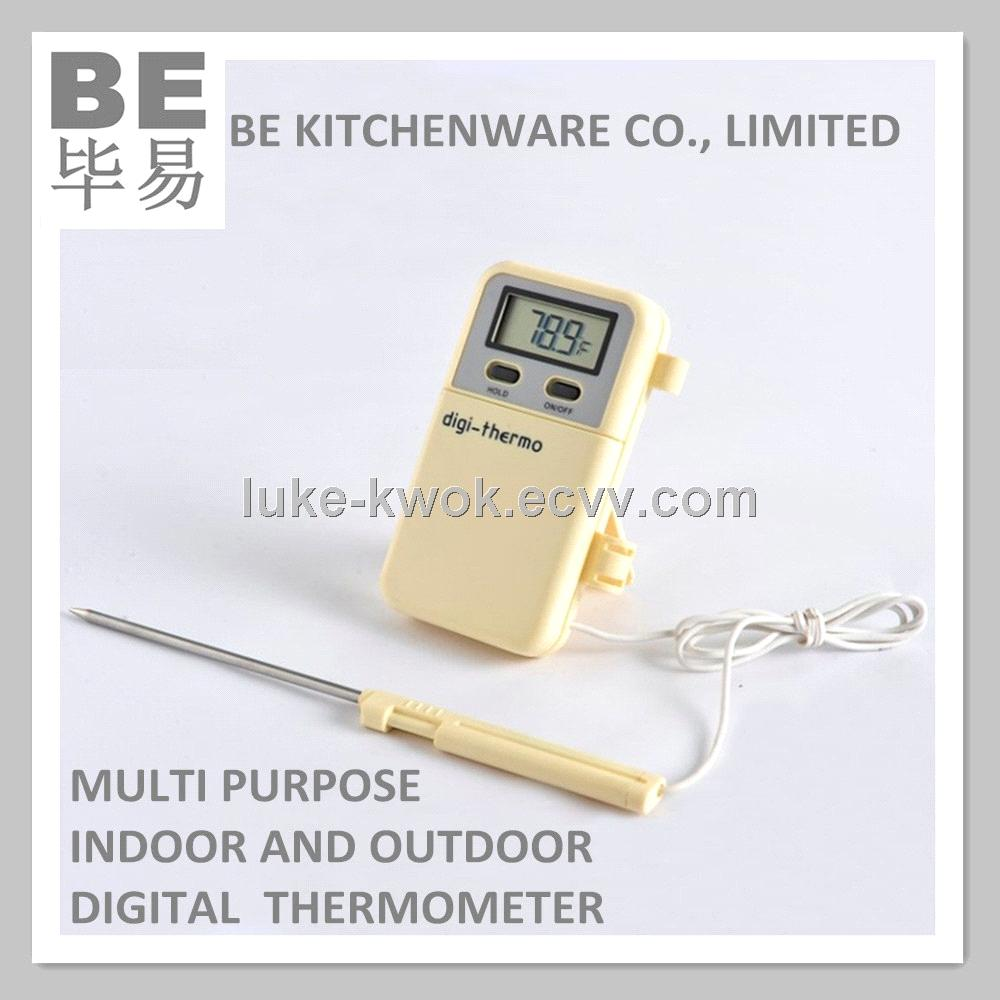 Multi purpose digital food thermometer