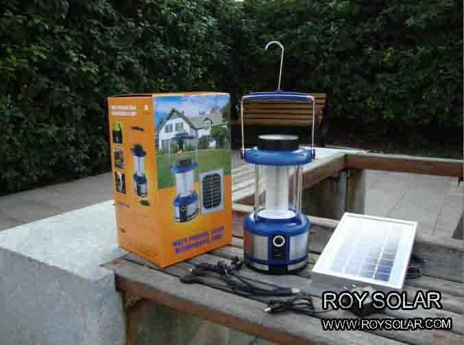 LED Portable rechargeable Solar Lantern,with USB charger and FM radio