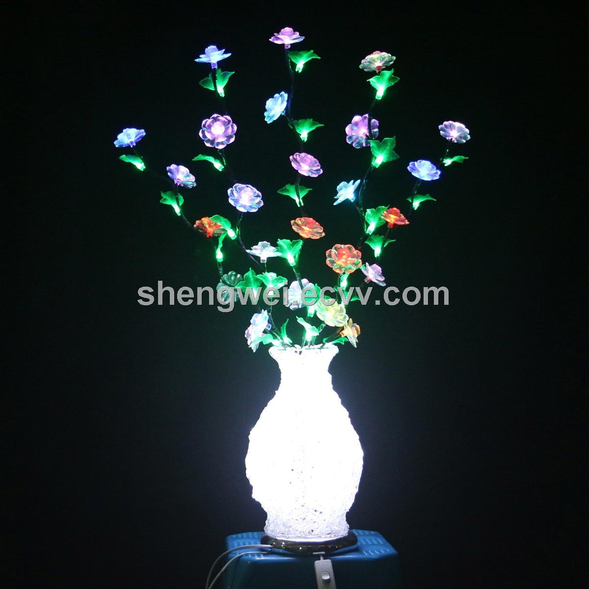 Weddingchristmasnew year flower vase with 108led purchasing ecaltvv reviewsmspy