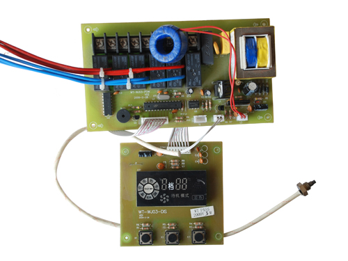 Electric Water Heater Control System PCB Circuit Board Design
