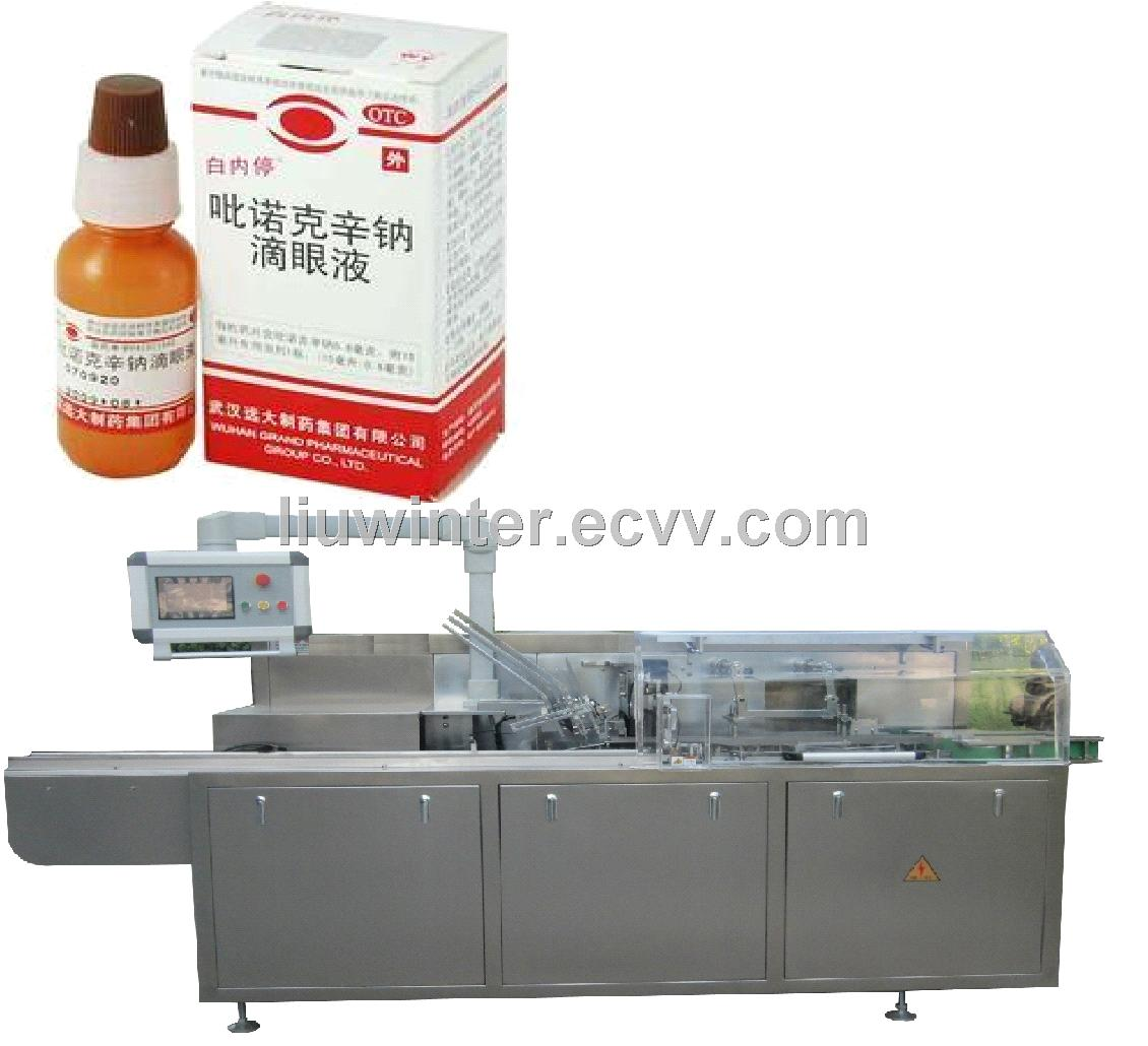Eyewash Carton Boxing Machine Packing Machine