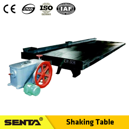 6S-series concentration shaking table in low invest cost