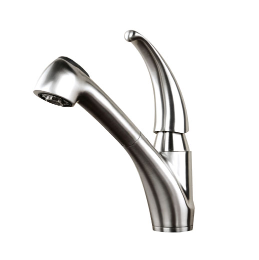 Stainless steel pull-out faucet kitchen faucet AGCP10