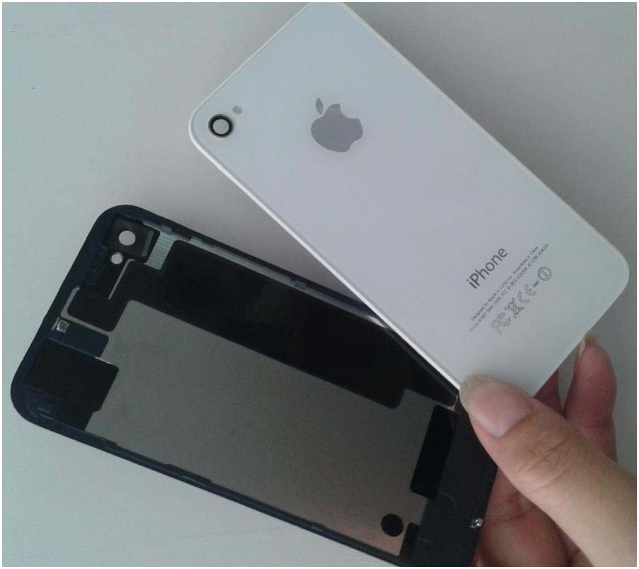 Tempered Glass Battery Back Cover for iPhone4 4S