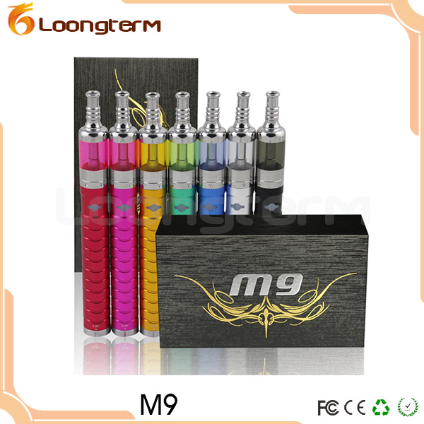 Variable Voltage M9 Kit Ecig with Rebuildable Atomizer