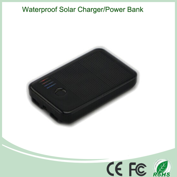 Dual USB Solar Power Bank Charger
