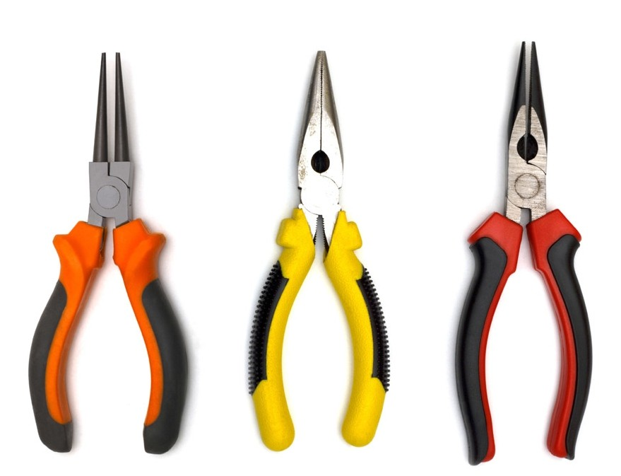 All Types of Pliers /Flat Nose Pliers/Round Nose Pliers
