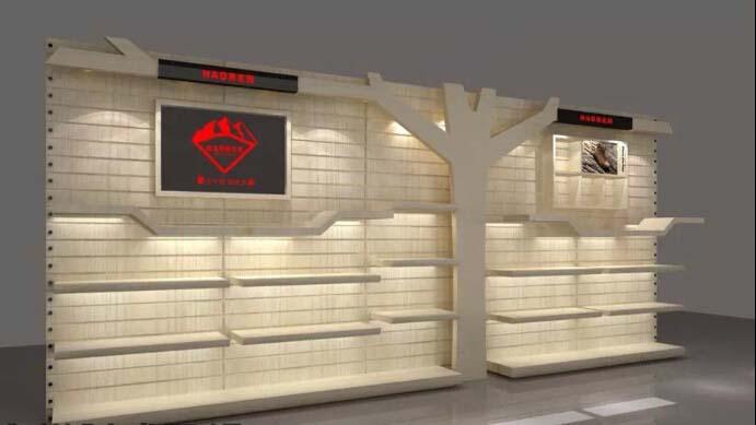 Exhibition Display Racks : Wooden display showcase display rack glass exhibition display
