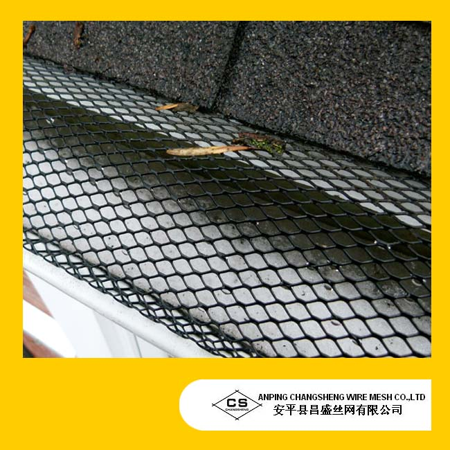 Expanded Metal Gutter Mesh/Aluminum mesh gutter guards(ISO certificate)