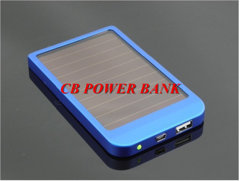 solar battery new solar power bank portable battery  charging for all mobile phones