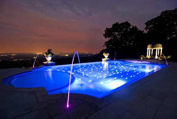 18W LED Underwater Light Swimming Pool Light Fountain Light from ...