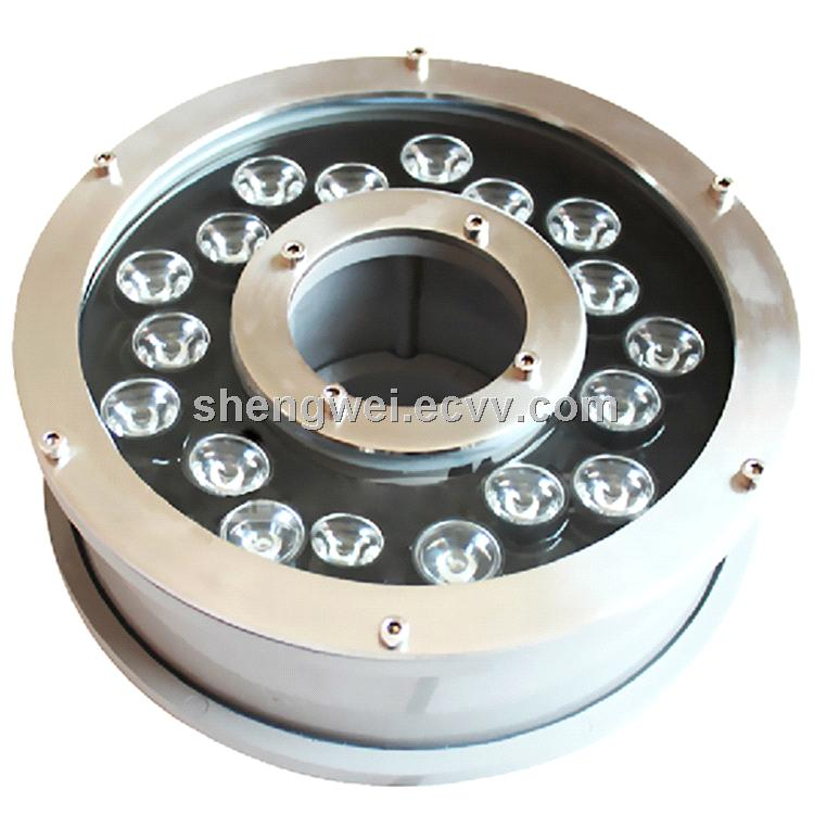 New,18W RGB LED Underwater Light for Fountain Pool