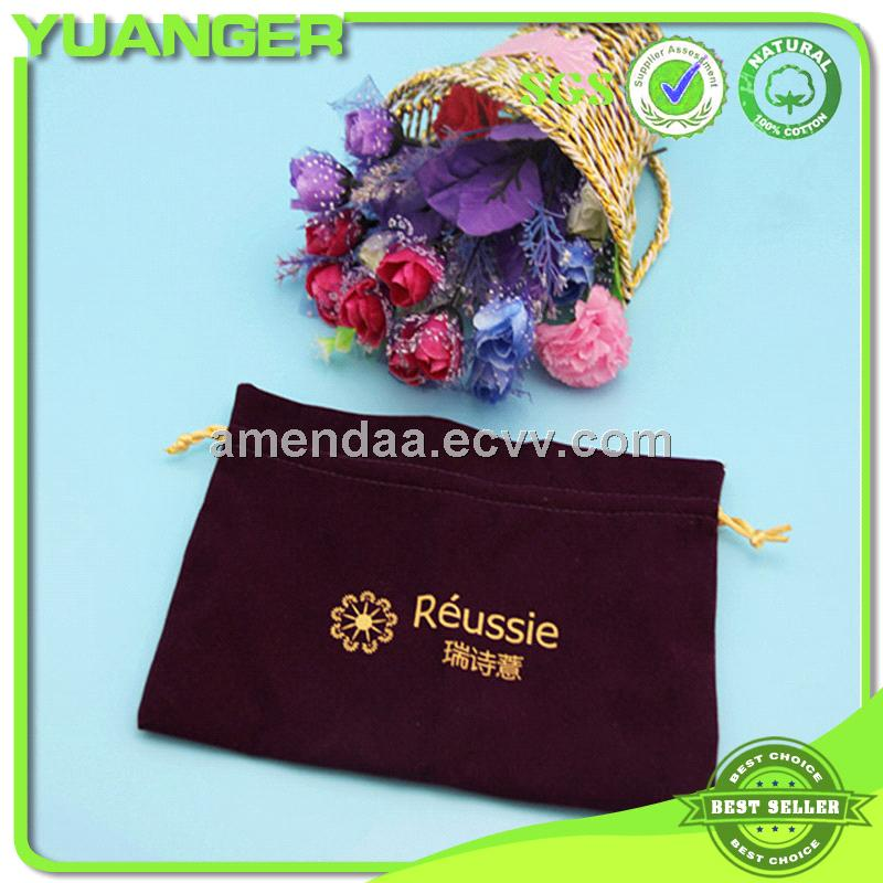 Customized Custom Shoe Velvet Dust Bag Factory Exporter