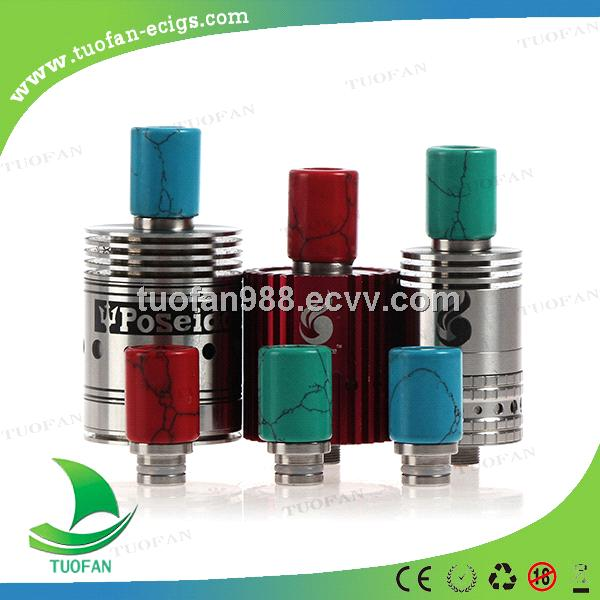 New style beauty wide bore 510 SS + Turquoise 510 Jade Stone drip tips for ecig rda atomize