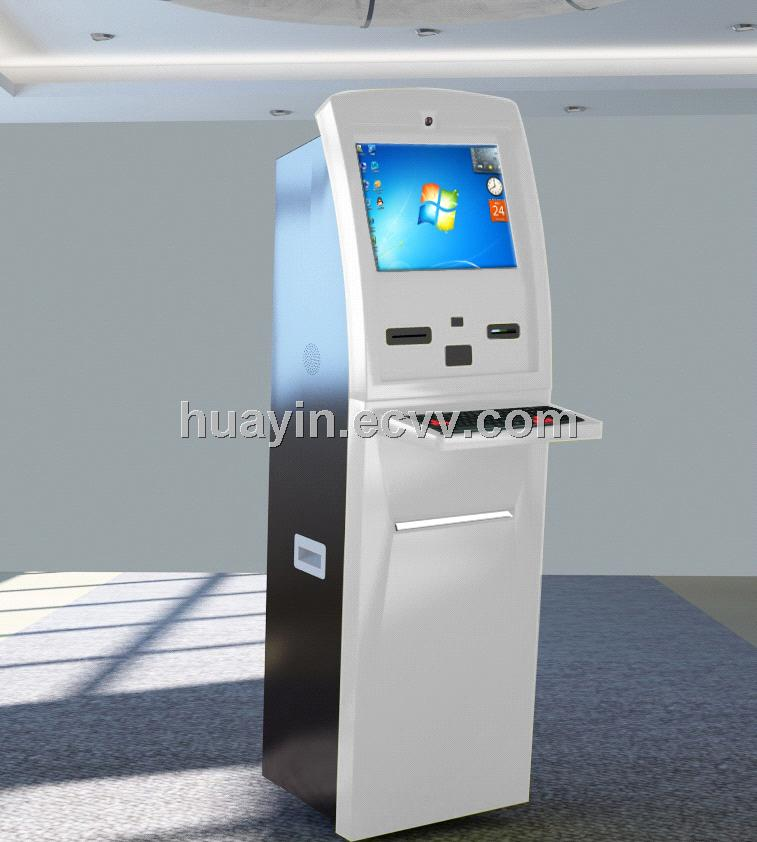 Self-service Multi-payment Touch Kiosk