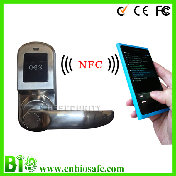 Good Price Mobile NFC Door Lock for Home Security System (HF-LM9N)