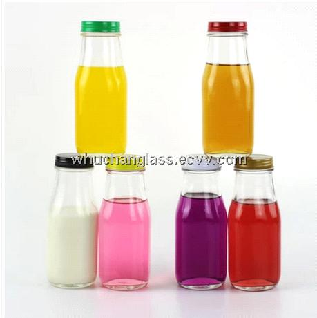 300ml Glass Milk Bottle With Cap