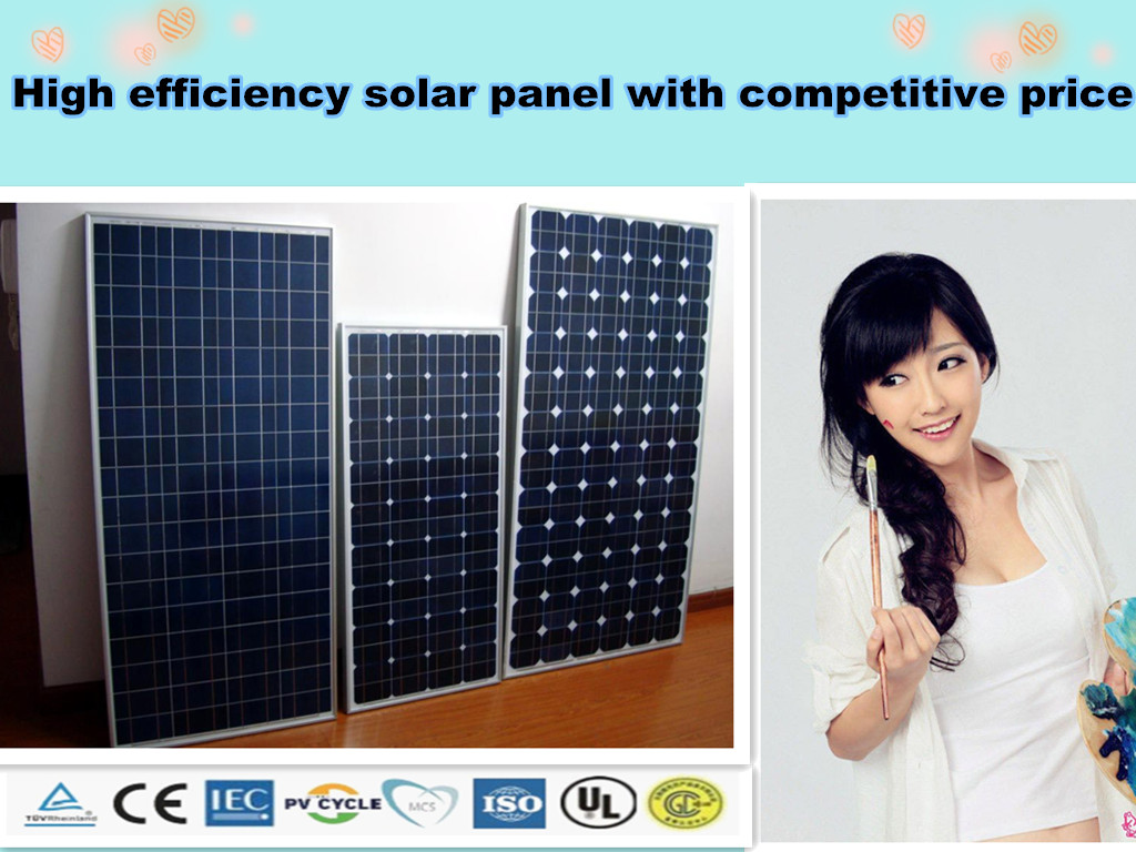 big solar module support customed