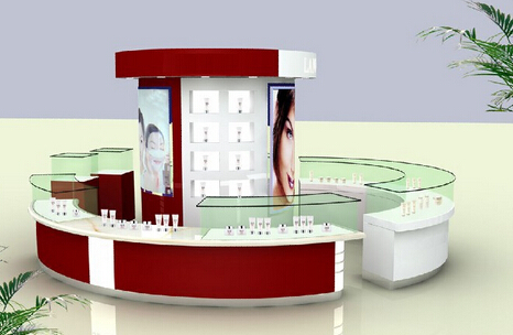 Exhibition Display Racks : Mdf display racks exhibition furniture for jewerlly cosmetic