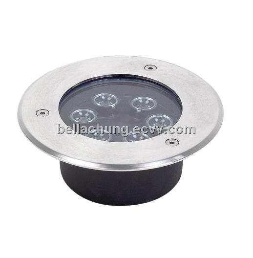 CE Rohs approved EPIstar chips high power 6W Outdoor underground light LED