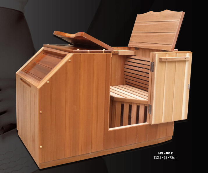 Wholesale New Design Infrared Half Sauna with Wide Spectrum Cabon Heater
