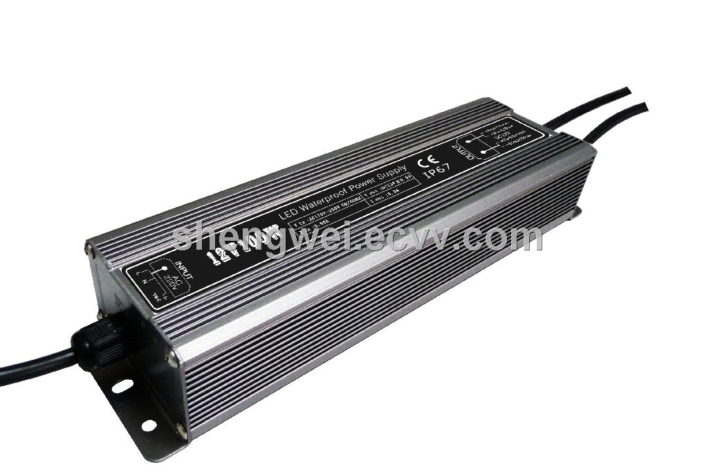DC12V 100W LED light box power supply with CE&RoHs