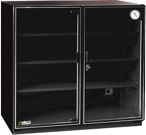 MH-250 Eureka Auto Dry Storage Cabinet for cameras, cinematography, lenses, films, negatives