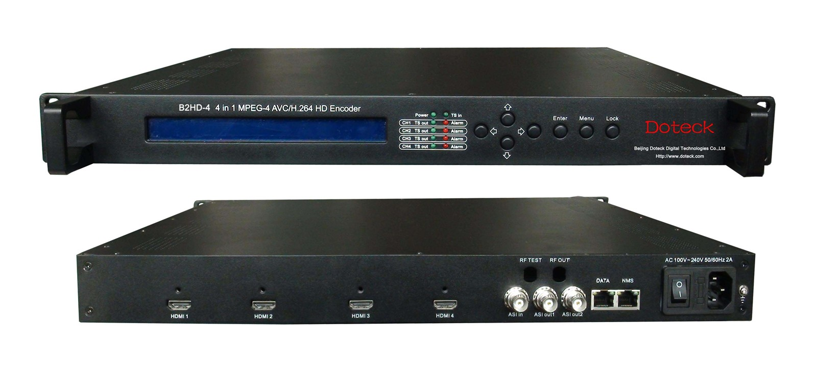 HD encoder with 4 inputs