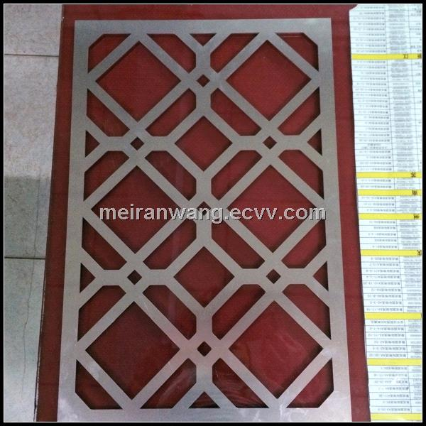 laser cut metal screens/decorative laser cut metal