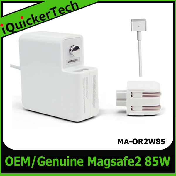 OEM/Original 85W Magsafe2 Laptop Adapter for Apple MacBook PRO18.5V 4.6A 5pin