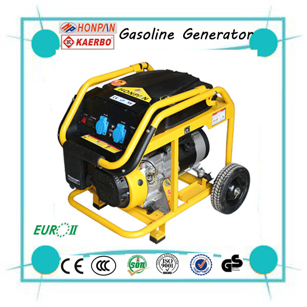 Handle Wheel Gasoline Generator Types For sale