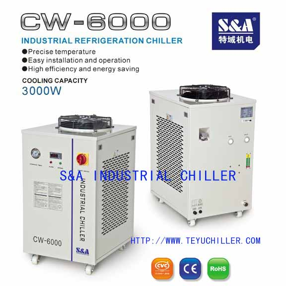 Air cooled chiller for Laser Welding System