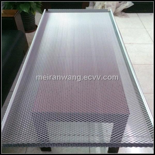 Aluminum Decorative Expanded Metal Ceilings Ceiling Tile