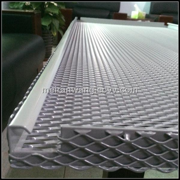 Aluminum Expanded Metal Ceiling Perforated Metal Ceiling
