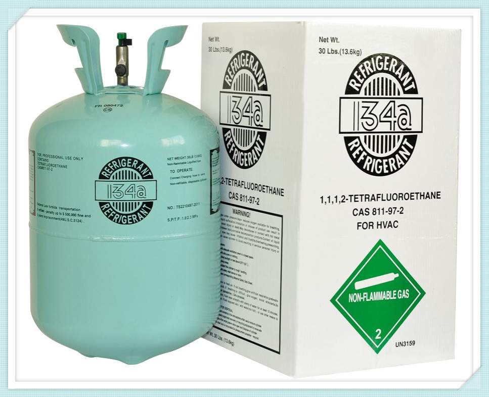 R134a with 13 6kg/cylinder Refrigerant R134a on Sale