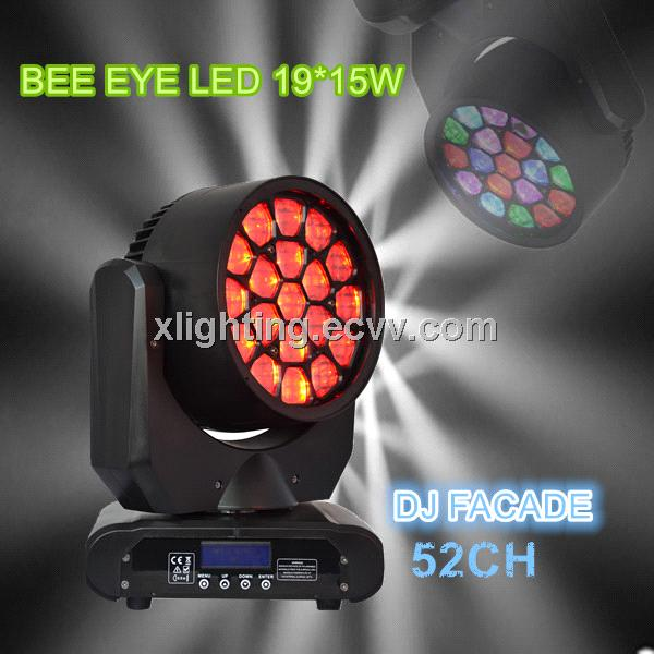 Dj facade 19x15W Digital Wash-Beam Framing effect bee eyes led moving head