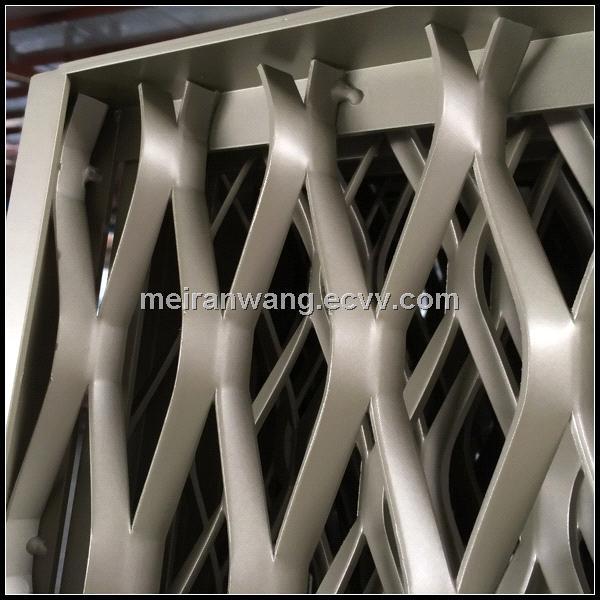 Architectural decoration expanded mesh/Decorative aluminum expanded mesh