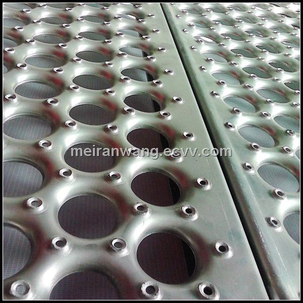 Aluminum Deck Plate Perforated Metal Deck Perforated