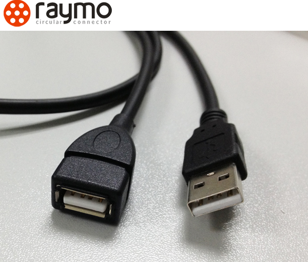 4 pin USB cable, male and female gender