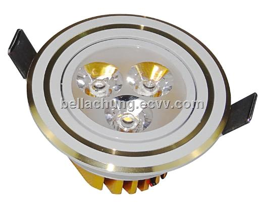 Best price wholesale passageway ceiling 3w led downlights