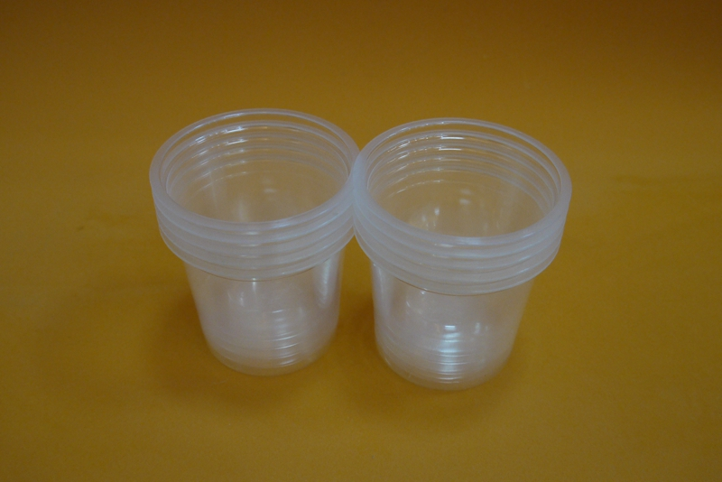 clear blister disposable jelly cup assorted