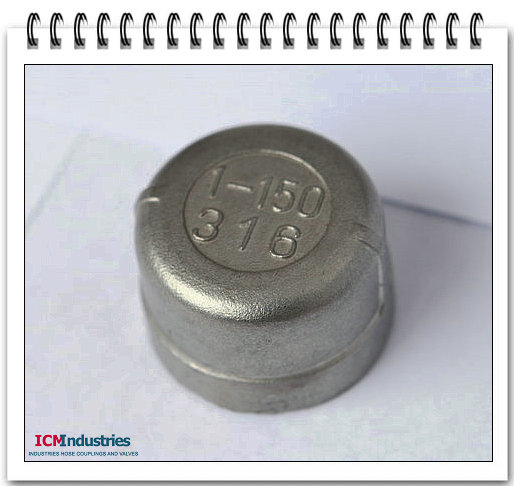 ISO4144 Standard 150lb stainless steel Cap