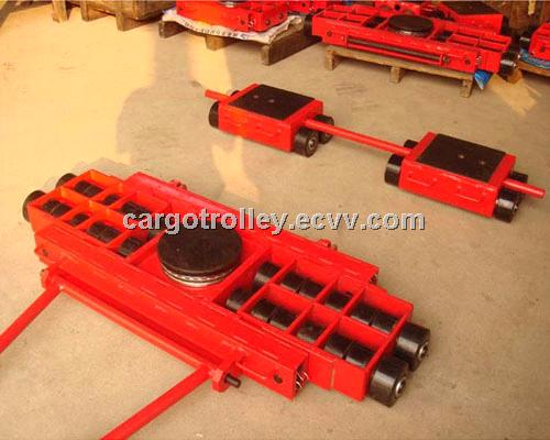 Cargo trolley features and functions