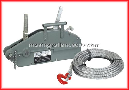 Wire rope pulling winches price list and instruction